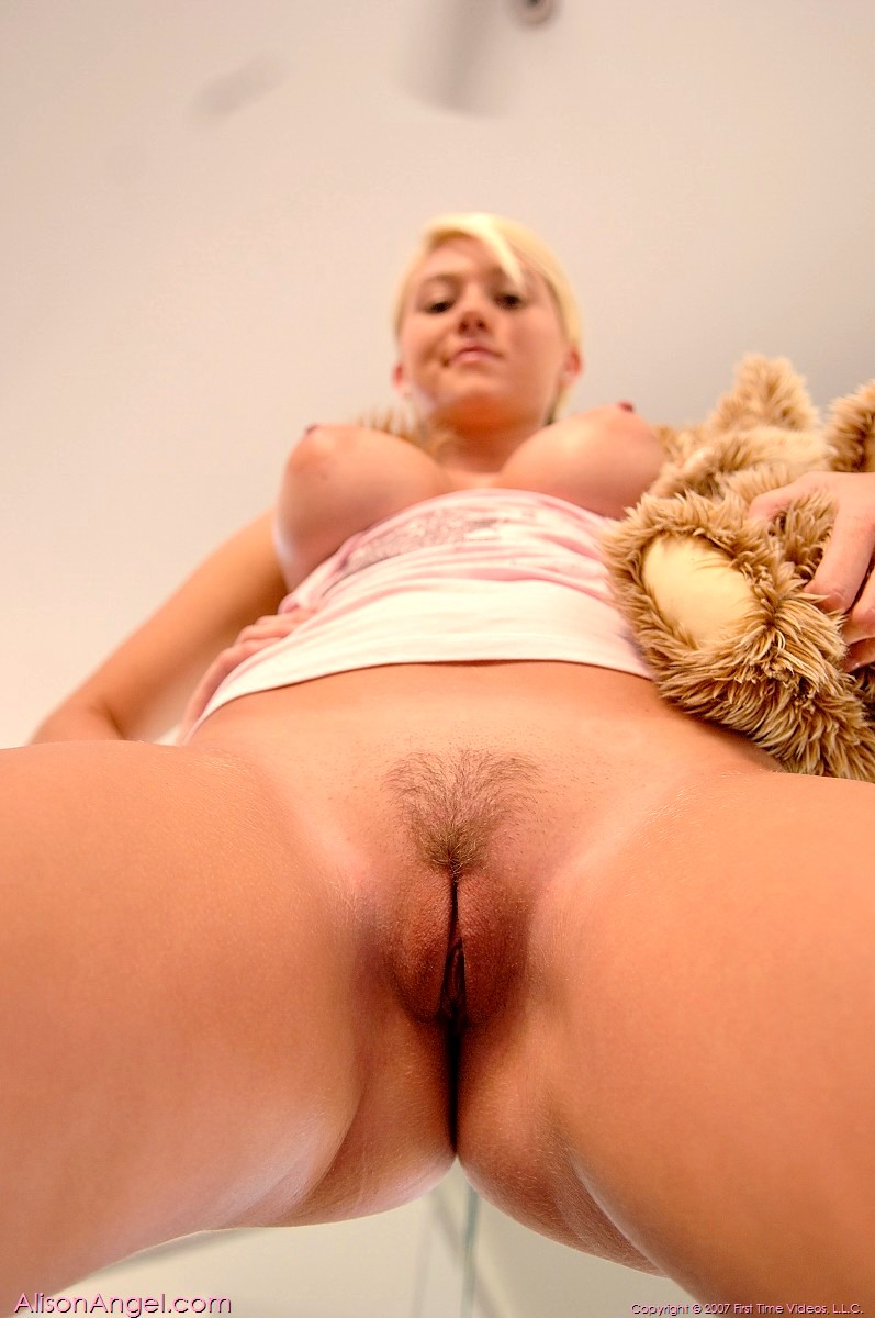 Alison Angel Naked And Spread