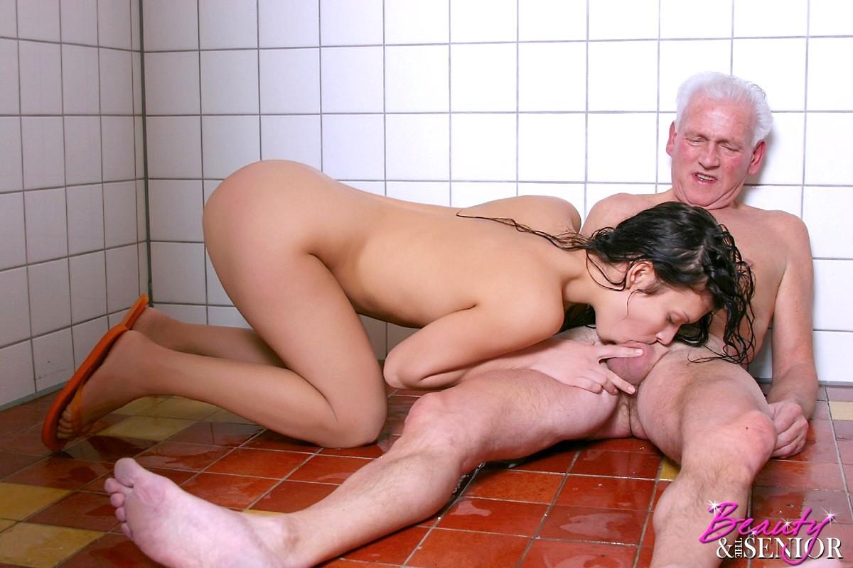 Older women younger men