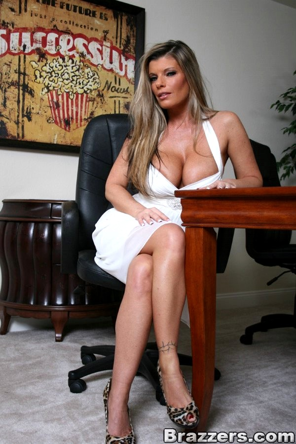 Kristal summers big tits at work