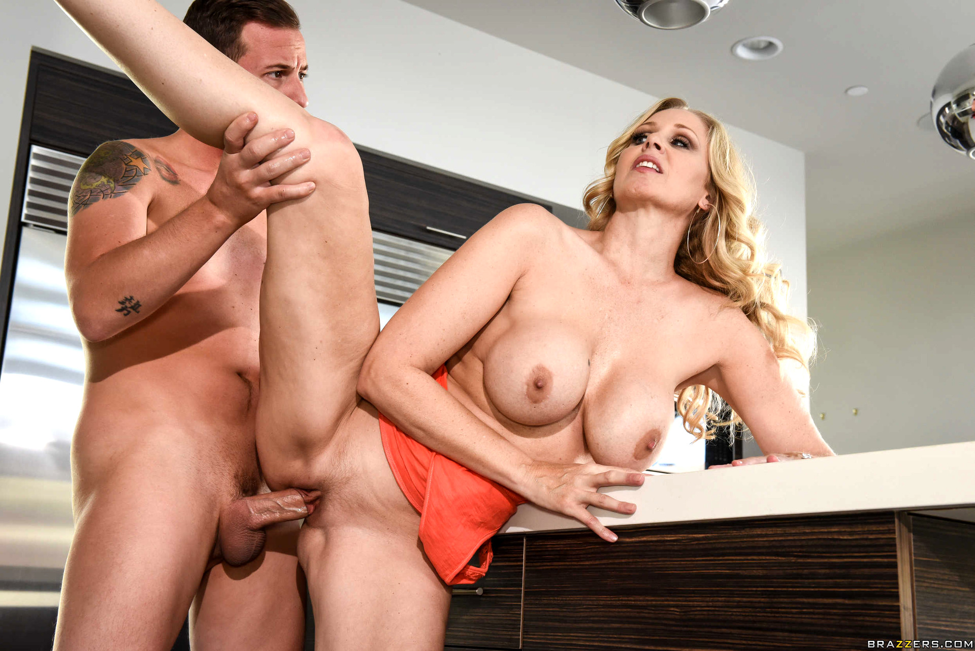 Julia ann get steamy with her son's boss