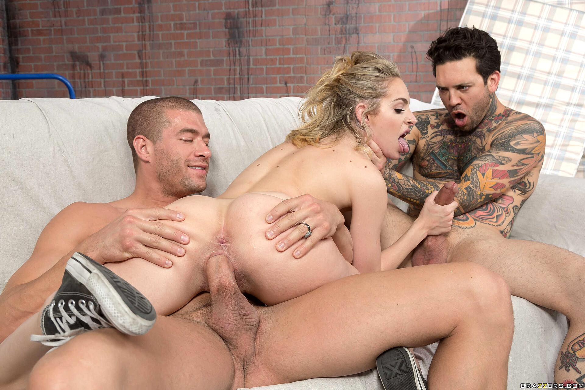 Naughty America Threesome Hd