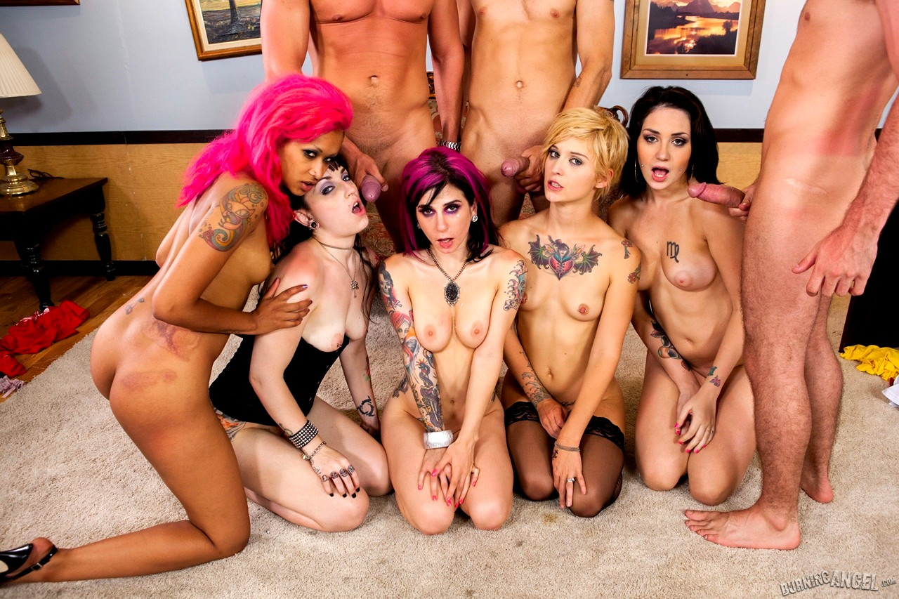 Sex pank orgy party