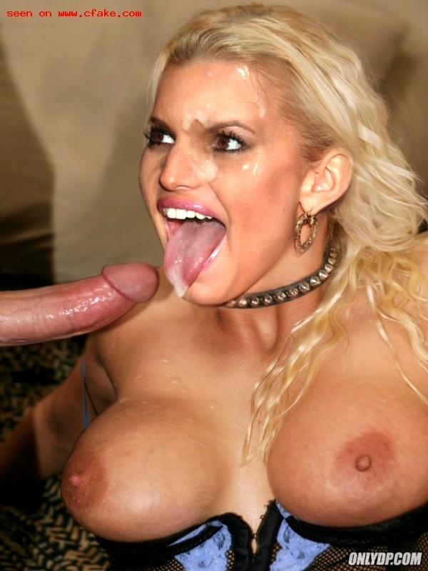 Jessica simpson sucking dick free
