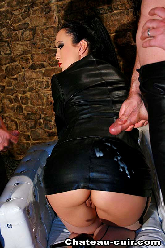 Leather girls dick masturbation free porn