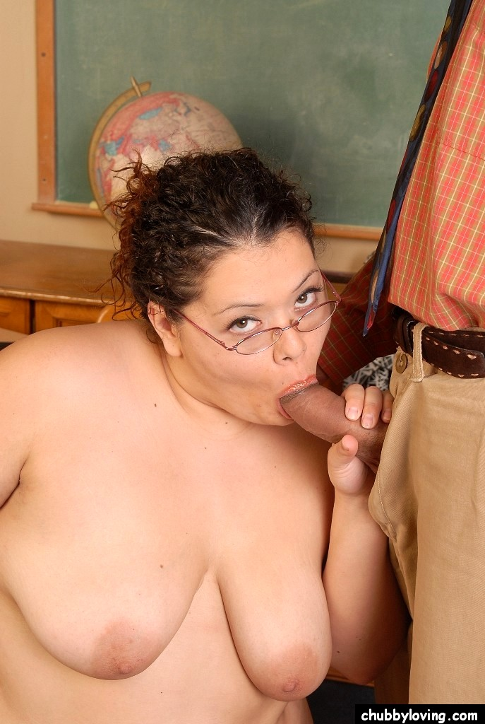 Amazing fat teacher sex — photo 9