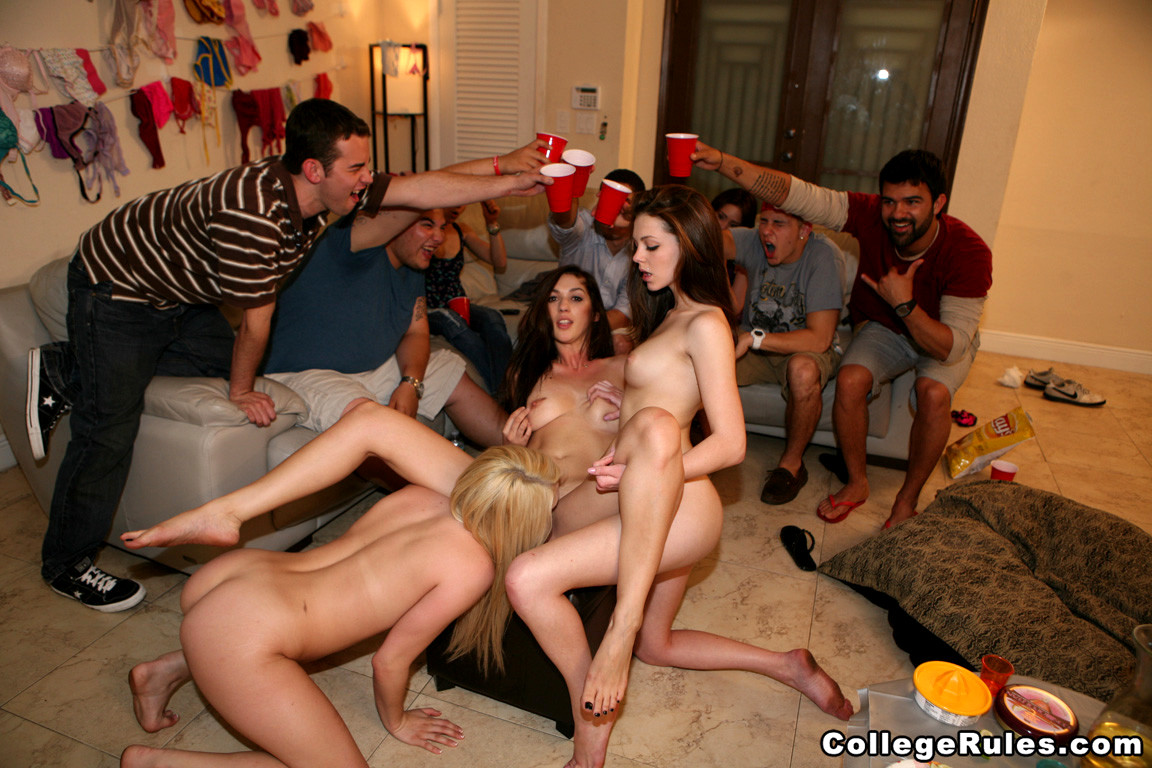 Hot College Fuck Fest