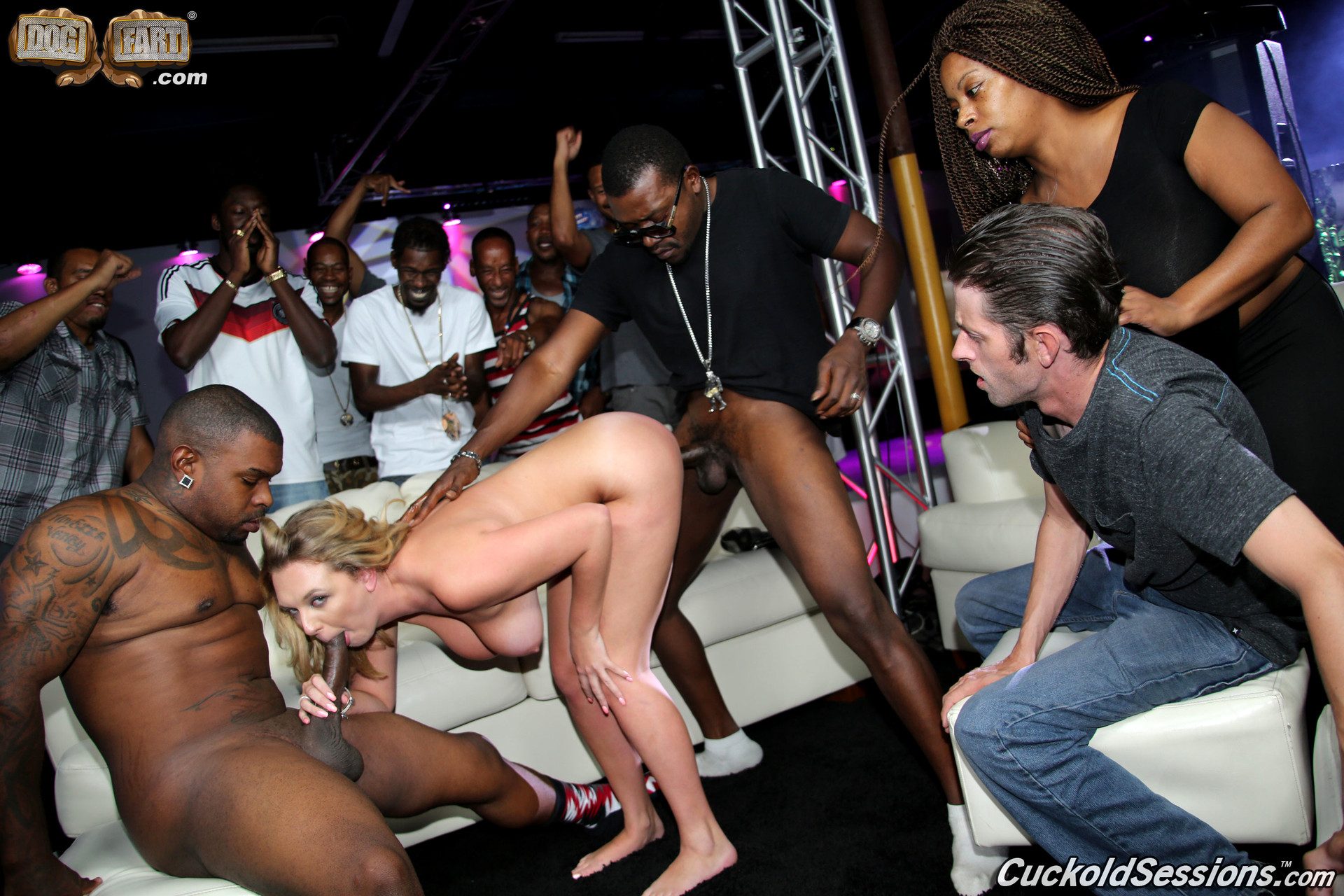Cuckold sessions brooke wylde interracial at cuckold sessions