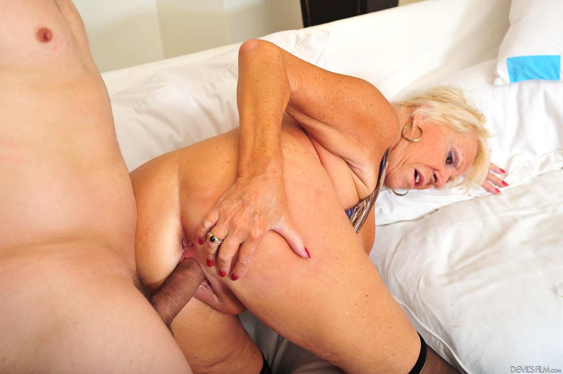 Anal Orgy Granny
