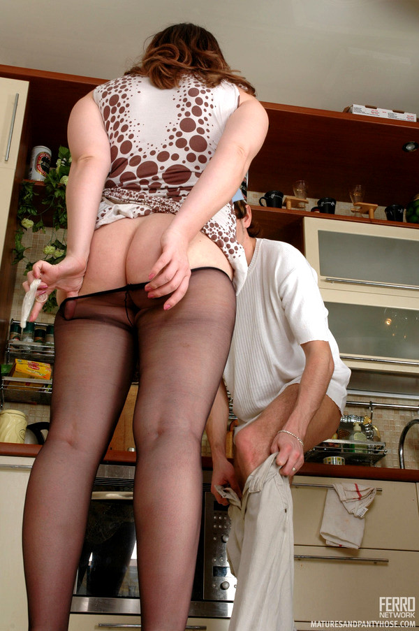 Mother and son pantyhose fuck stories