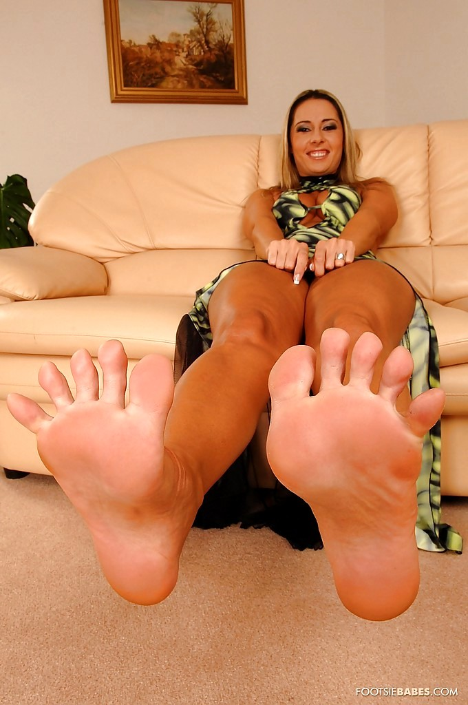 With you Daria glower foot fetish