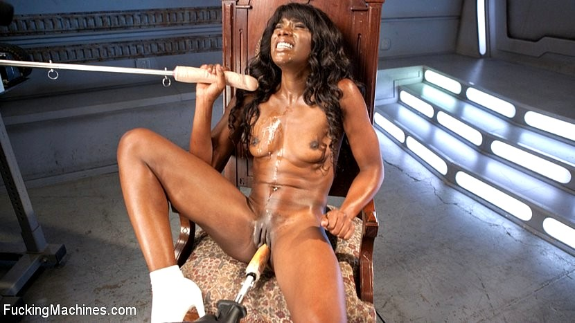 Ana foxx fucking machines