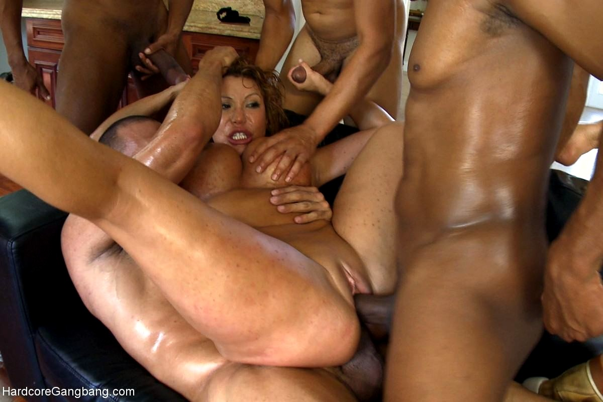 Very Hard Rough Gangbang