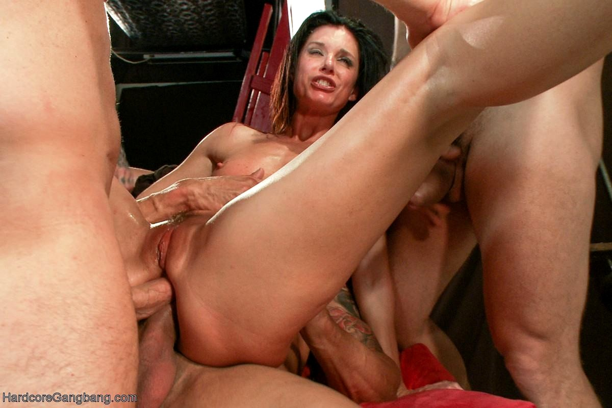 Hardcore gangbang pictures