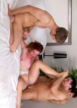 Teen Rough Gangbang Creampie