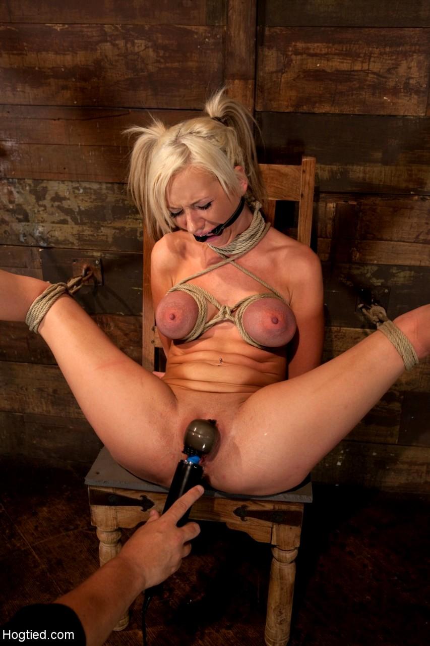 Female bondage masterbation