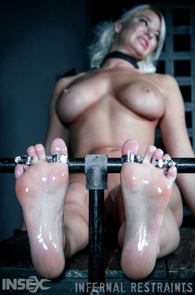 Foot torture bdsm porn