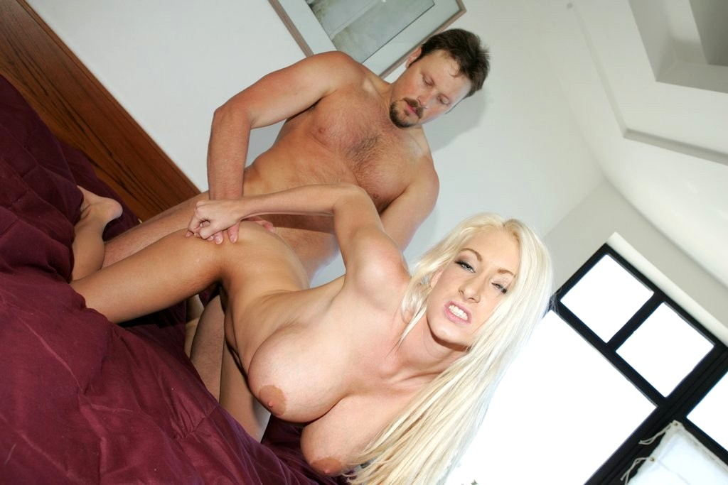 Sweet Blonde Nadia Hilton With Amazing Tits Gets Them Fucked And Her Pussy Fucked