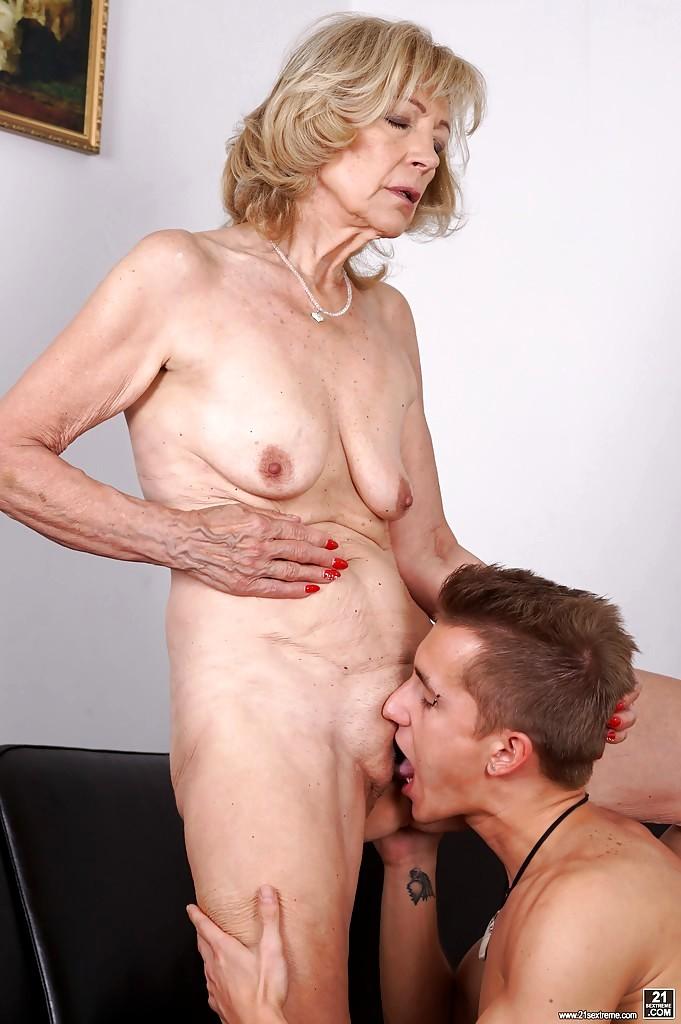 Granny Ass Lick