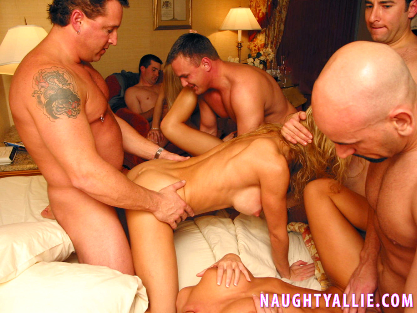 Crazy sex party in vegas