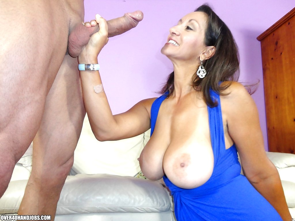 The Biggest Dick For The Famous Milf Monster White Cock