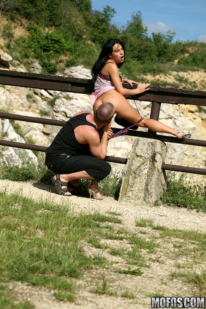 Outdoors Grotto Banging With A Lusty Youthful Baby 1