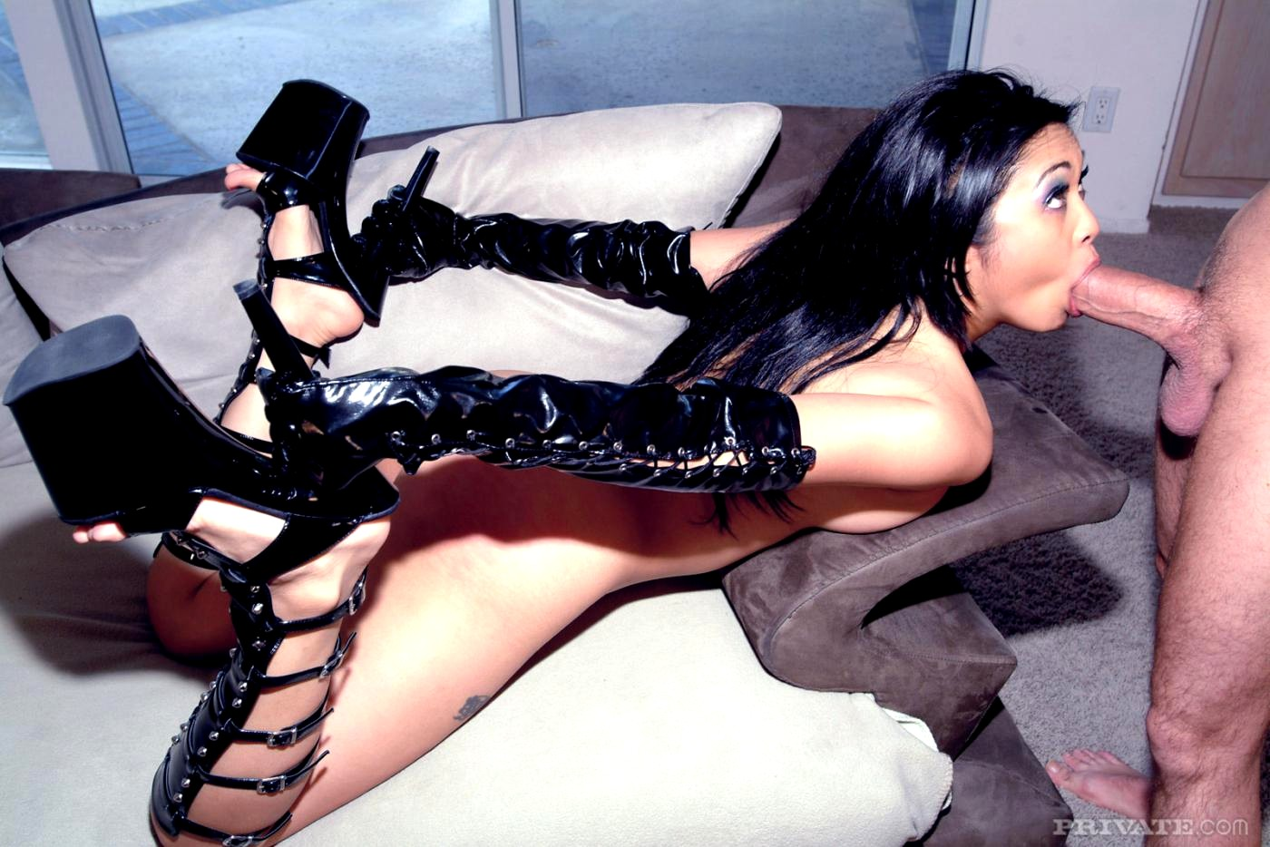 Chinese boots trampling