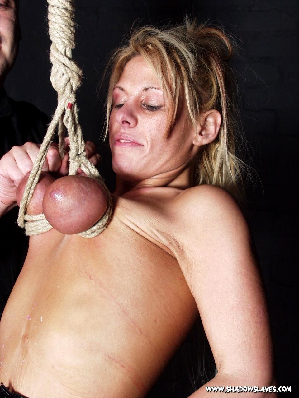 Tit Hanging Torture