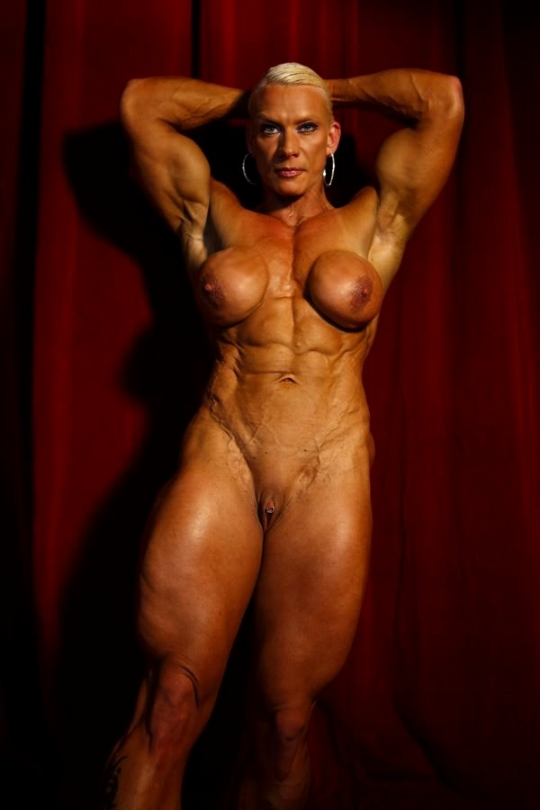 Fbb small boobs female body builders tiny tits breasts
