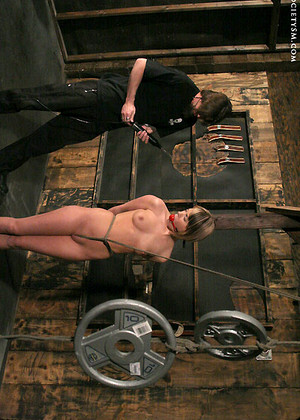 Two babes get tied up and hard fucked by two kinky guys