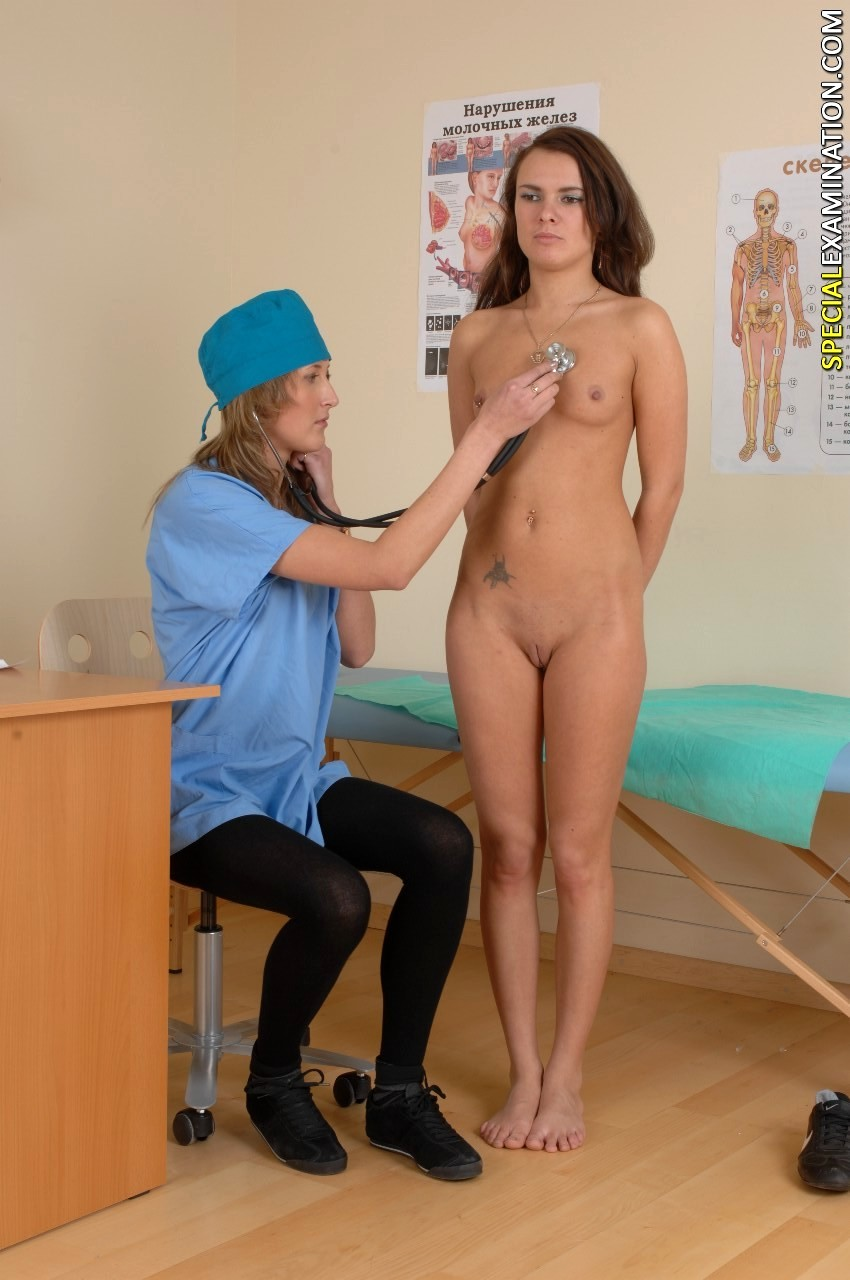 Nude Girls Medical Exam