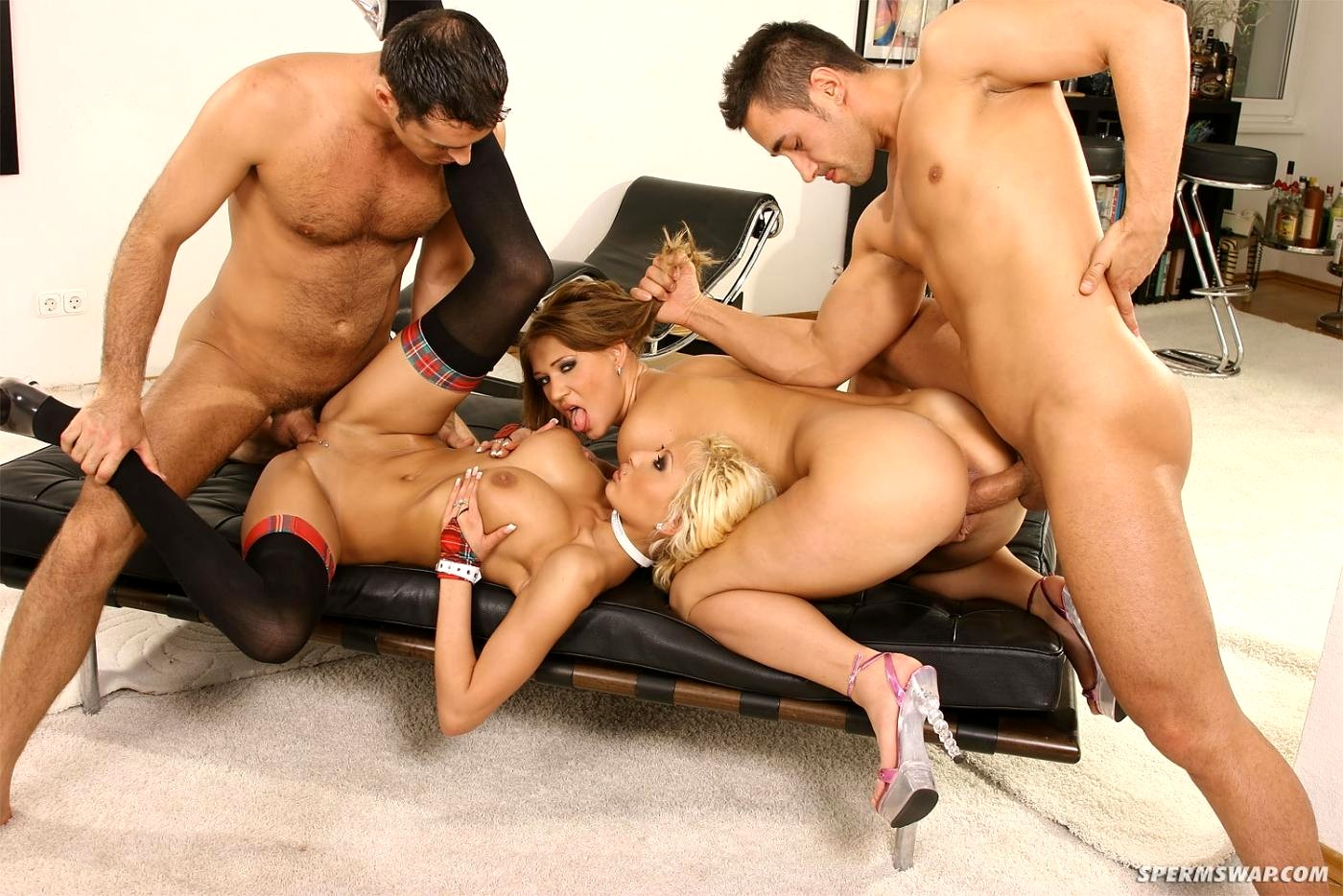 Group sex tape with naughty and sluty girls
