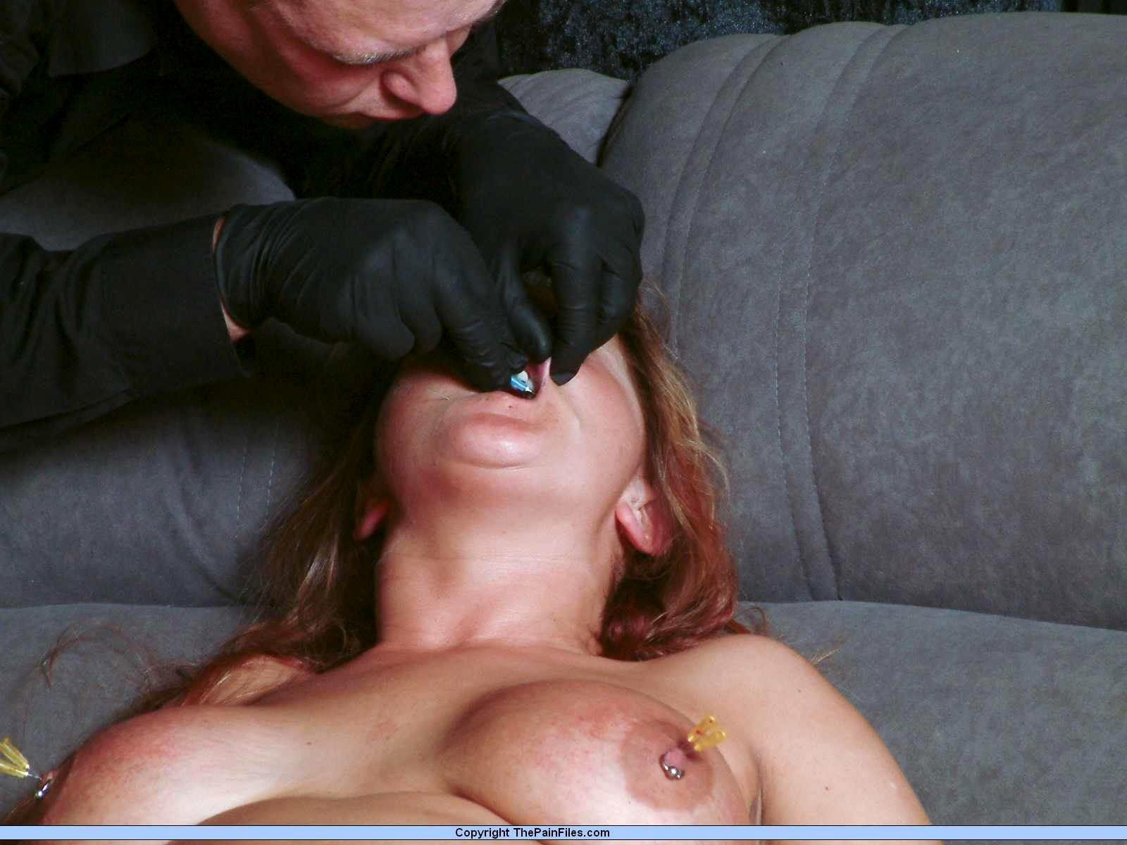 Medical Needle Bdsm And Cruel Doctors Torture For This Slut