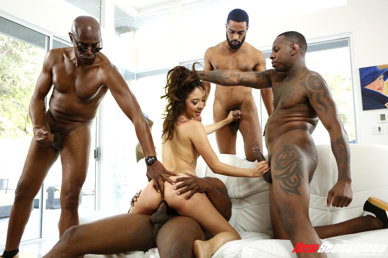 Milf Gangbanged By Black Men