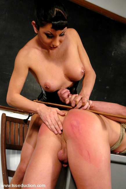 Spanking And Bondage Suck And Fuck With A Teen Ladyboy
