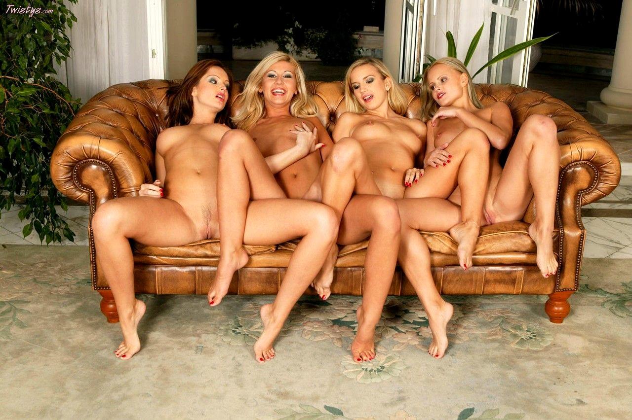 Dinner party amateur orgy