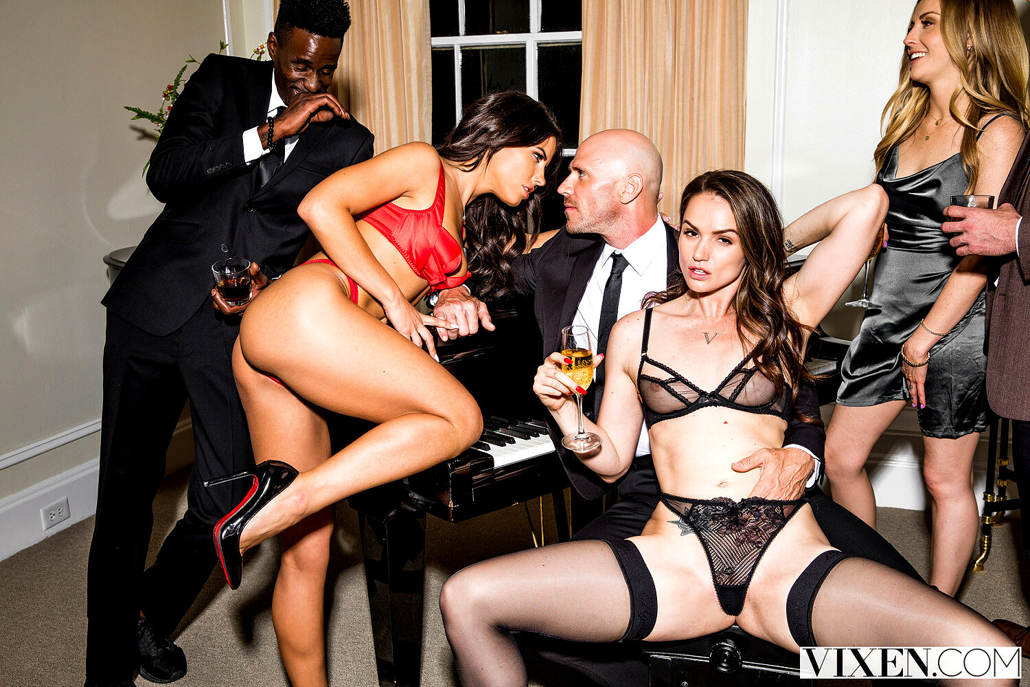 Tori black and adriana chechik take a private party to the next level
