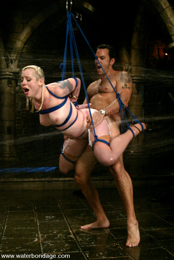 Lesbian Belly Tickle Bondage