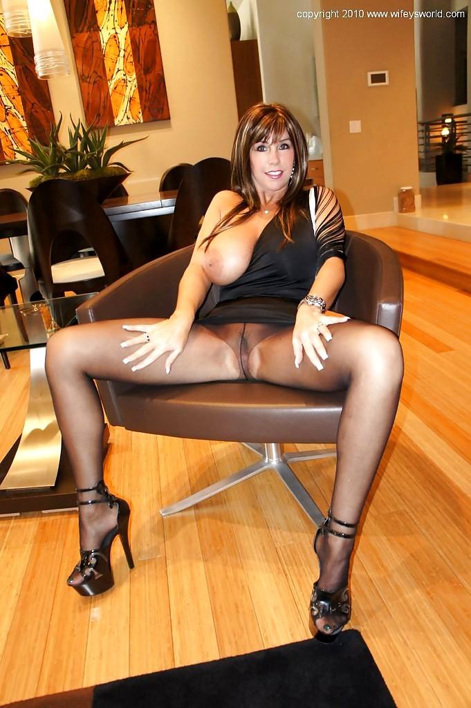 Wifey blow job stockings