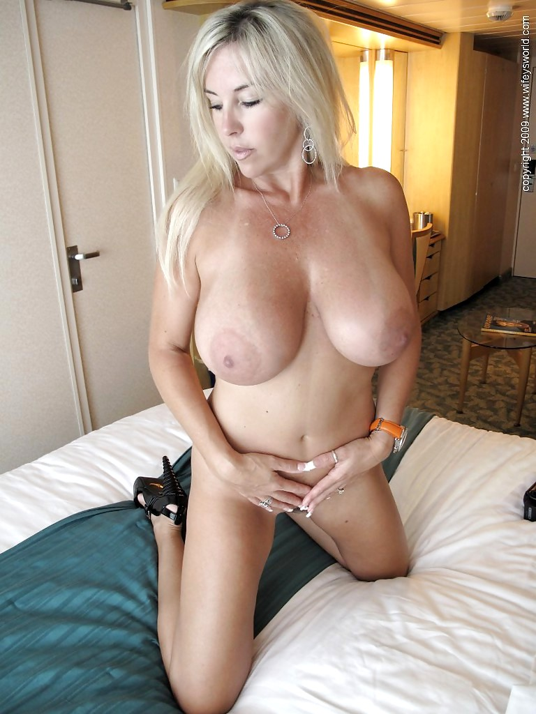 share your opinion. big boobed blonde slut gets nude that would without