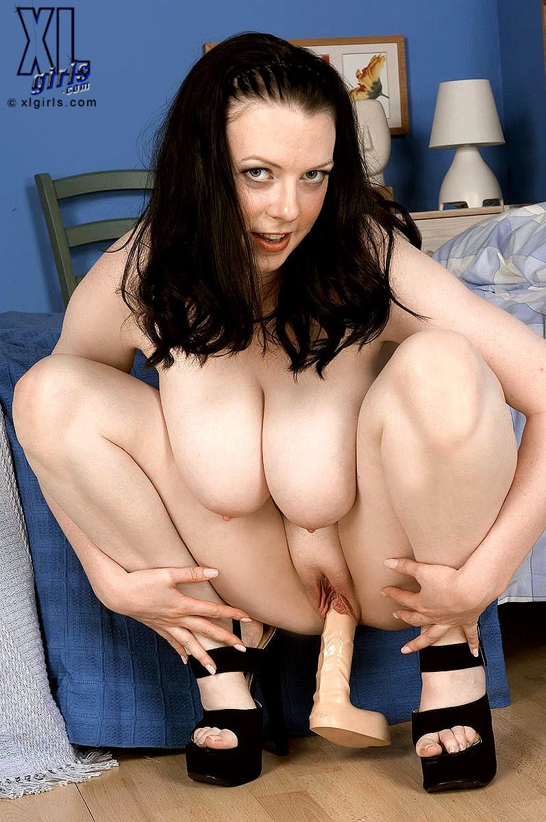 Girl in tight underwear
