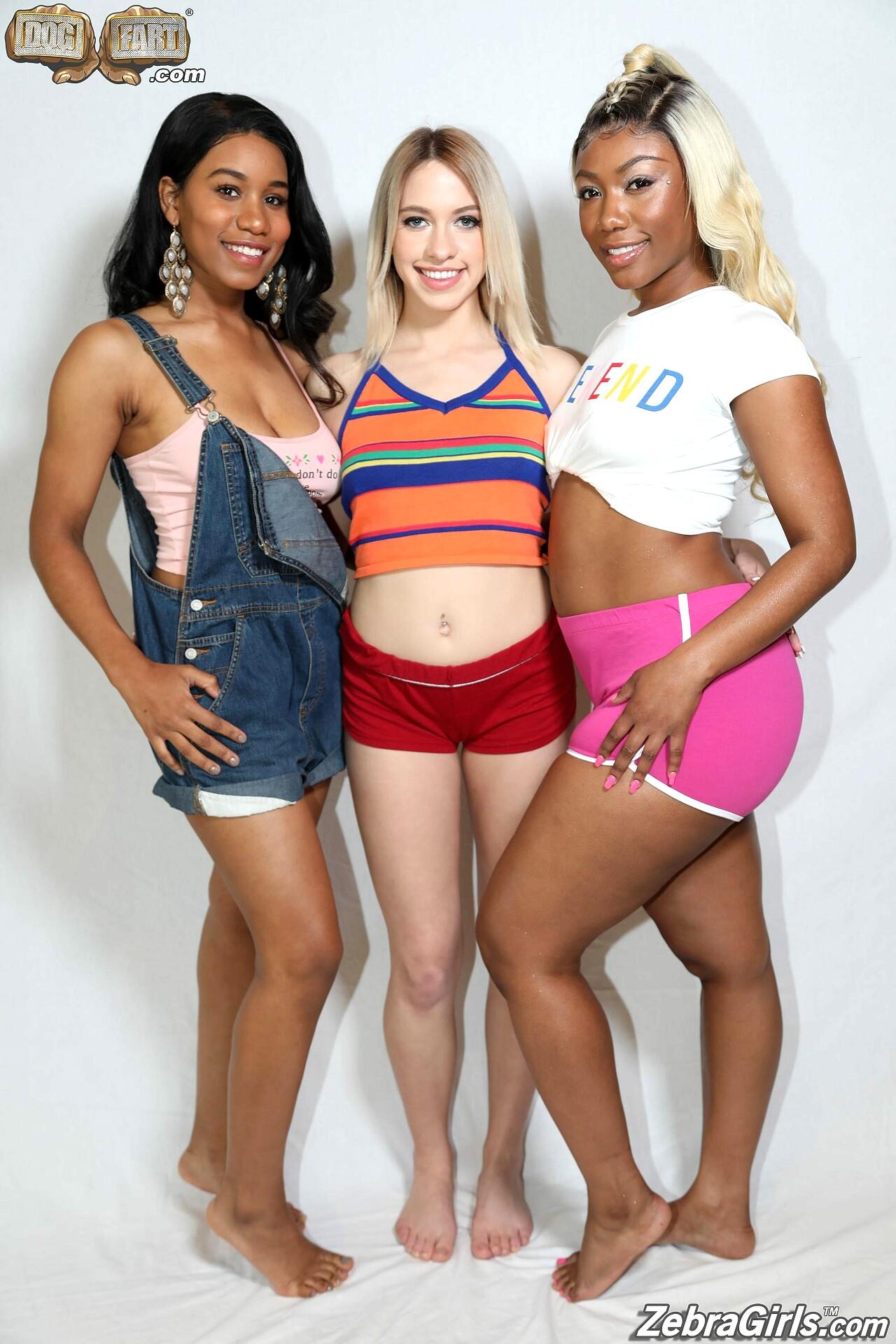 Ebony Jenna J Foxx Lesbian
