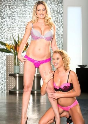 Horny Pornstars Aria Austin And Angela Attison In Best Big