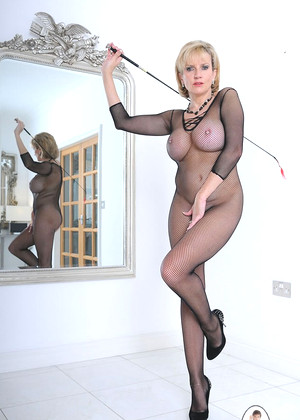 Lady sonia fishnet bodystocking